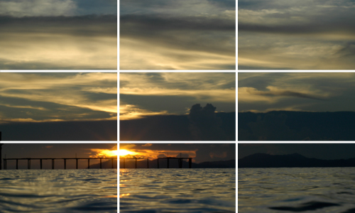 horizon rule of thirds composition by Matt Weiss