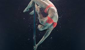 Underwater Pole Dancing Photography
