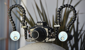 Equipment for DSLR Underwater Video