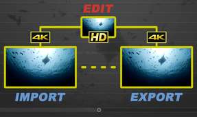 Editing 4K Underwater Video with Proxy Files