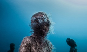 Freediving Photography at Jason deCaires Taylor's Museo Atlántico