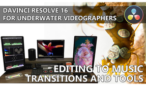 DaVinci Resolve for Underwater Videographers: Part II – Editing to Music, Transitions and Tools