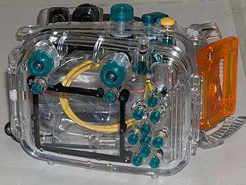 underwater camera storage