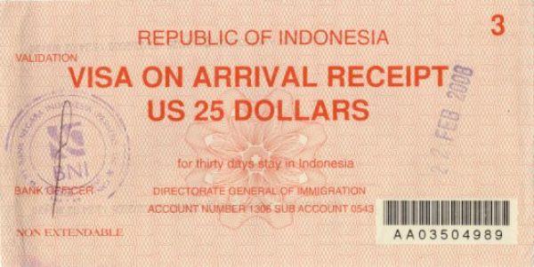 правительство Индонезии объявило, что начнет вводить безвизовый режим для туристов из 30 стран