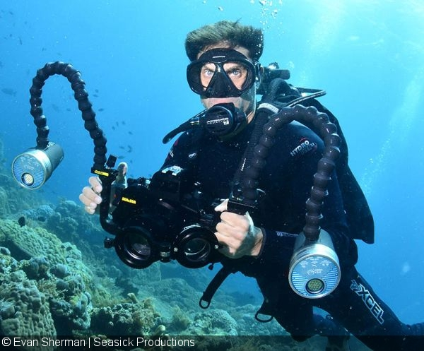 Suggest you Underwater amateur camera equipment