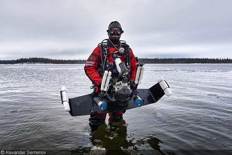 Camera equipment amateur Underwater