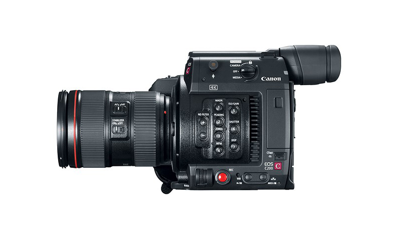 Canon Announces EOS C200 Digital Cinema Camera