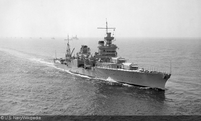 Lost USS Indianapolis found Saturday in the Philippine Sea