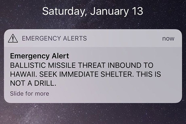Local man recounts panic after false missile alert in Hawaii