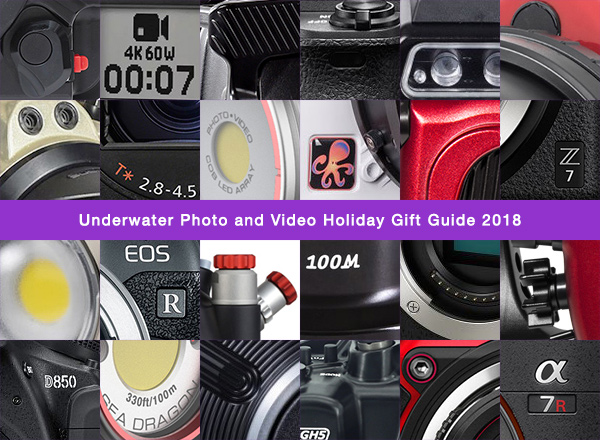 Underwater Photo and Video Holiday Gift Guide 2018