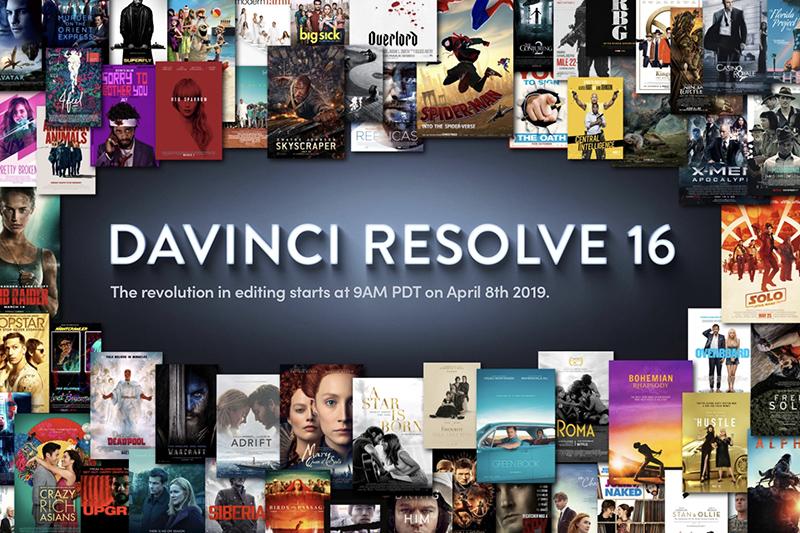 Blackmagic Releases Davinci Resolve 16