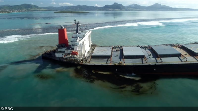 Mauritius oil spill: Almost all fuel oil pumped out of MV