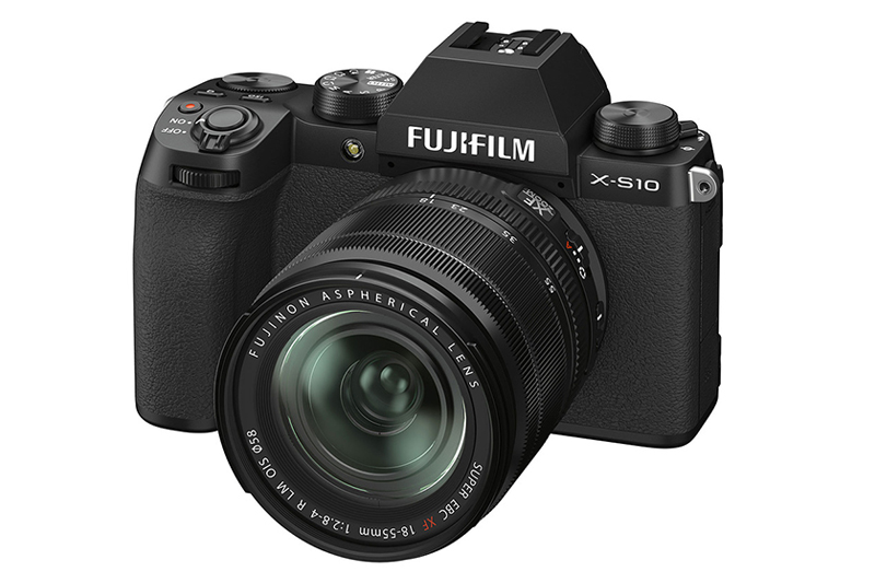 Fujifilm X-S10 APS-C mirrorless camera introduced