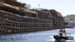 Diver Dies Working on Costa Concordia Wreck