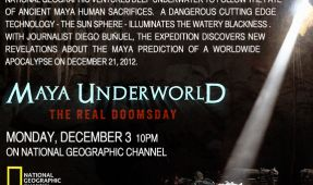 'Maya Underworld The Real Doomsday' Documentary to Air on National Geographic