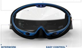 Concept: Smart Swimming Goggles - Augmented Reality Dive Mask