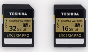 Toshiba Announces World's Fastest Memory Cards