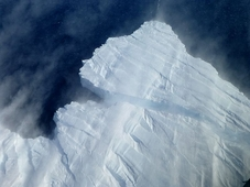 Giant Antarctic Iceberg Set Adrift at Sea