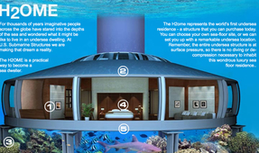 Global Sea Rise Spurring Underwater Homes