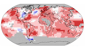 Warmest Temperatures on Record from January to October 2014