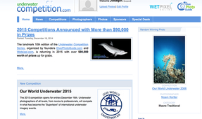 Underwater Competition Site Now Accepting Entries!