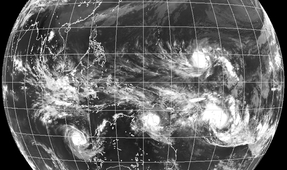 Tropical Cyclones Hit Oceania