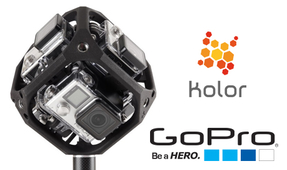 GoPro Announces Acquisition of Kolor with 360-Degree Video