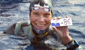 Top Freediver Missing, Feared Dead