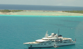 Billionaire's Yacht Damages Large Section of Cayman Reef