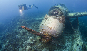 WWII Aircraft Found After Missing for More than 70 Years