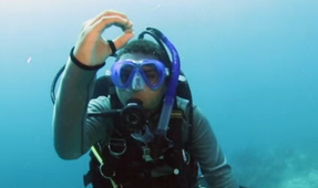 12-Year-Old Becomes Youngest Master Scuba Diver