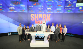 Joe Romeiro Kicks off Shark Week at NASDAQ