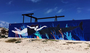 Wall Murals Promote Marine Conservation in Isla Mujeres