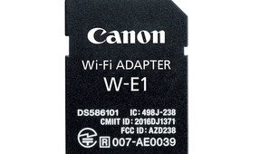 Canon's New SD Card-Shaped Accessory Adds WiFi