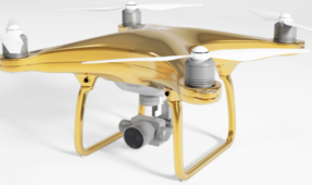 Pimp Your Ride: $24K Gold Plated Drone