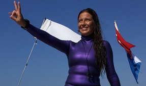 Turkey's Derya Can Breaks World Record for Longest Freedive Under Ice