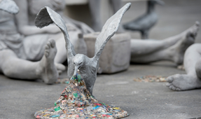 Plasticide: Microplastic Art Installation in London Unveiled
