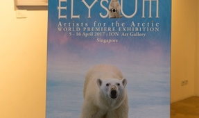 Elysium Artists for the Arctic Exhibit in Singapore