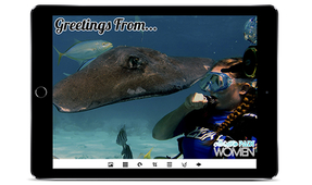 Vivid-Pix Gives Away Free App to Celebrate PADI Women Dive Day