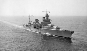 Wreckage of U.S.S. Indianapolis Found After 72 Years