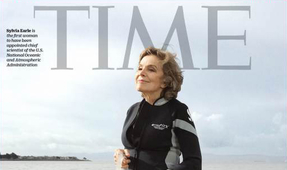 Dr. Sylvia Earle Featured in New TIME Book