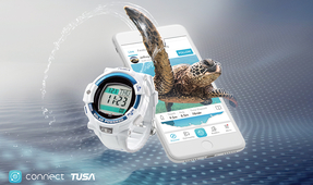 TUSA Flagship Dive Computer Can Now Connect to the Deepblu App