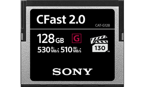 Sony Announces Pro Line of CFast Memory Cards