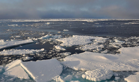 Arctic Temperatures Rise Drastically