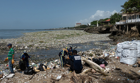 Video: Watch a Wave of Garbage off the Dominican Republic