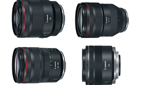 Four New Canon RF-Mount Mirrorless Lenses