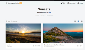 Redesigned and Updated Flickr Galleries
