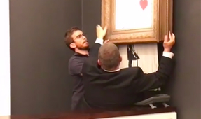 $1.4 Million Artwork Self-Destructs