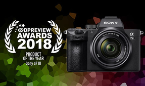 Sony a7 III Crowned Product of the Year by DPReview