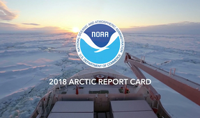 NOAA 2018 Report Card Details Continued Catastrophic Changes in the Arctic